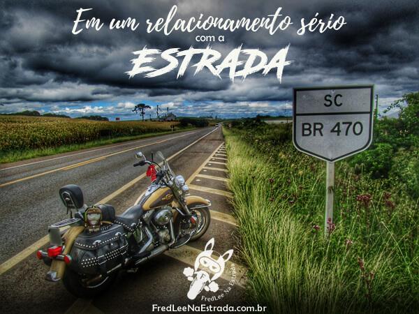 Em um relacionamento sério com a estrada! | FredLee Na Estrada