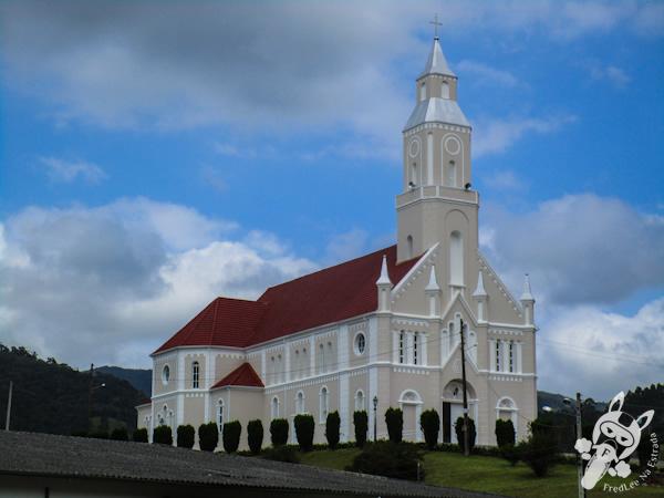 Igreja matriz de São Bonifácio - SC   FredLee Na Estrada