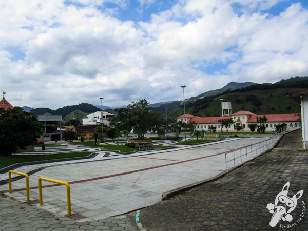 Praça central de São Bonifácio - SC   FredLee Na Estrada