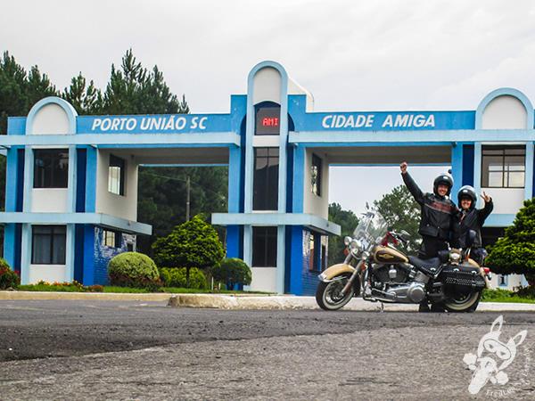 Pórtico de Porto União - SC | FredLee Na Estrada