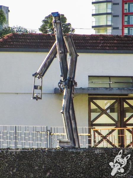 Estátua O Homem de Ferro – Porto União - SC