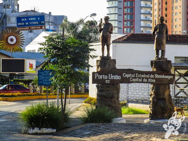 Divisa entre Porto União - SC e União da Vitória - PR