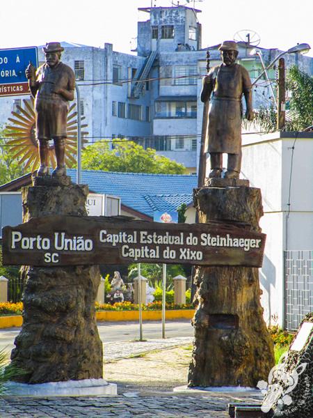 Monumento em Porto União - SC | FredLee Na Estrada