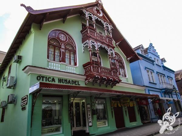 Rua XV de Novembro | Blumenau - SC | FredLee Na Estrada