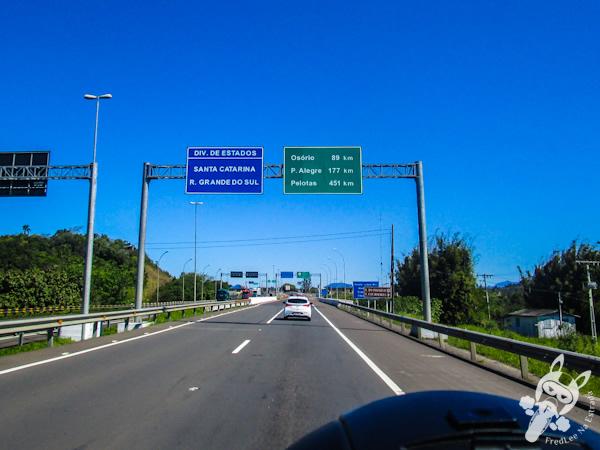 Divisa entre Santa Catarina e Rio Grande do Sul | Rodovia BR-101 | FredLee Na Estrada