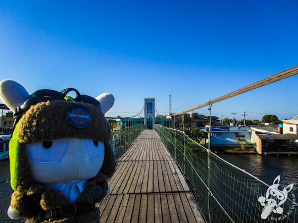 Ponte Pênsil entre Torres - RS e Passo de Torres - SC | FredLee Na Estrada