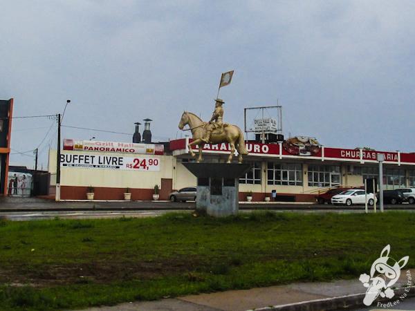 Monumento Cavaleiros do Mercosul | Passo Fundo - RS | FredLee Na Estrada