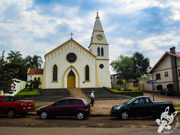 Igreja São João Batista | Entre-Ijuís - RS | FredLee Na Estrada