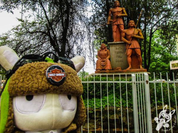 Monumento ao índio Sepé Tiaraju | Santo Ângelo - RS | FredLee Na Estrada