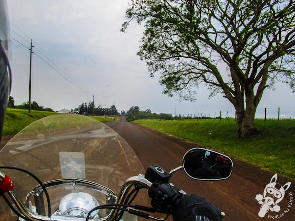Estrada de acesso a São Miguel das Missões - RS | FredLee Na Estrada