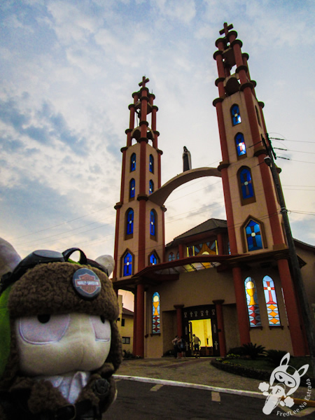 Igreja Santa Terezinha | Palmitinho - RS | FredLee Na Estrada