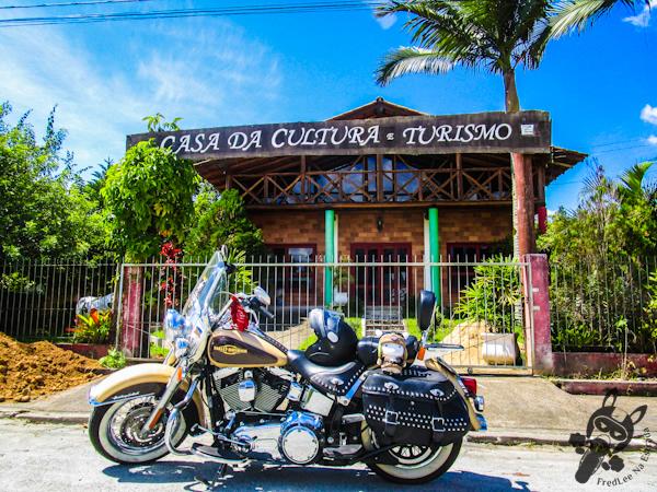 Casa da cultura e turismo de Águas Mornas - SC