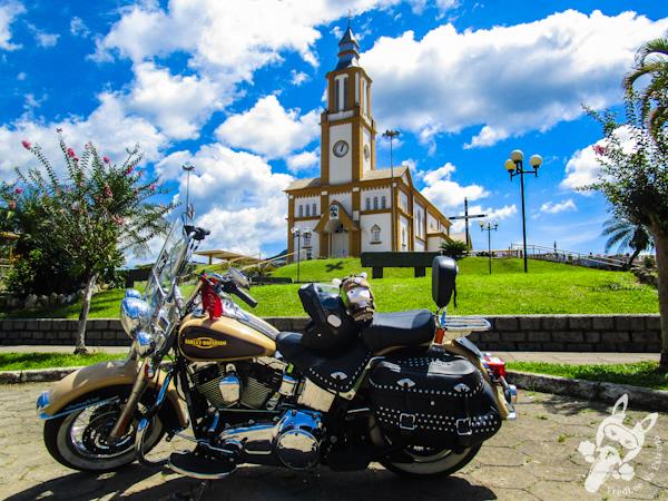 Igreja Sagrado Coração de Jesus | Águas Mornas - SC | FredLee Na Estrada