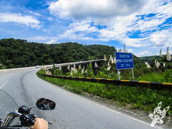 Viaduto da Serra da Boa Vista - BR-282 - Rancho Queimado - SC