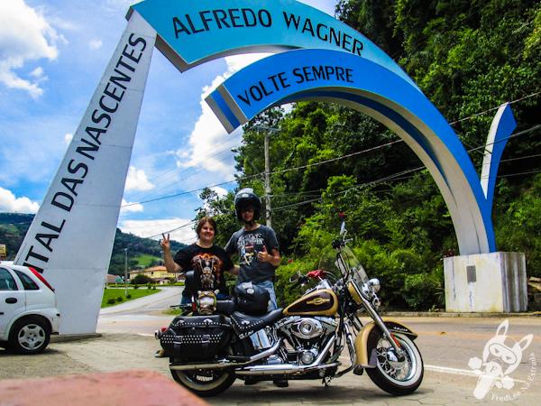 Pórtico de Alfredo Wagner - SC