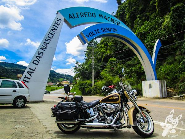 Pórtico de Alfredo Wagner - SC | FredLee Na Estrada