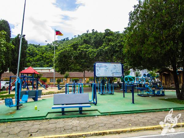 Praça da Bandeira | Alfredo Wagner - SC | FredLee Na Estrada