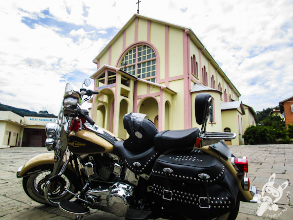 Igreja São Cristóvão | Alfredo Wagner - SC | FredLee Na Estrada