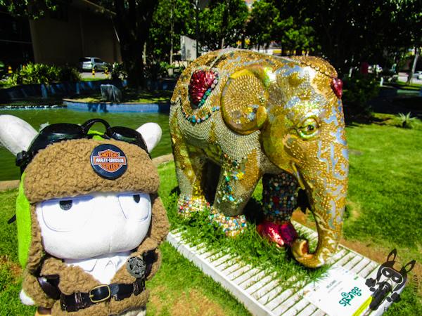 Relicário, por Elisa Vieira Queiroz - Elephant Parade - Florianópolis - SC