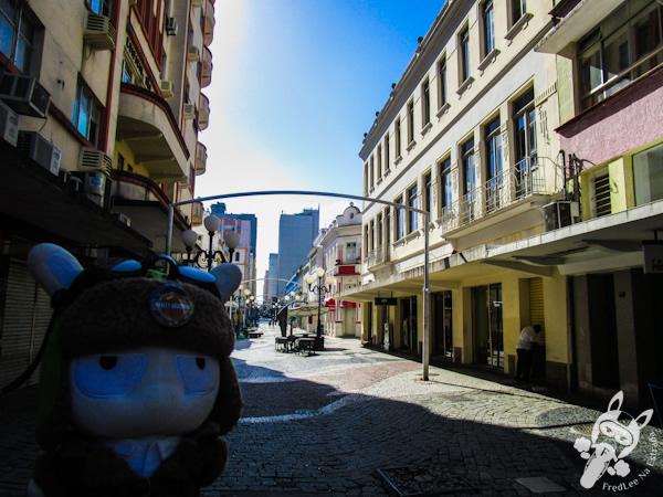 Calçadão da rua Felipe Schmidt - Florianópolis - SC