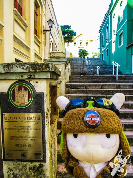 Escadaria do Rosário - Florianópolis - SC