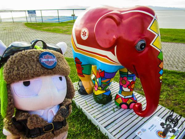 Helifante, por Luciano Costa - Elephant Parade - Florianópolis - SC
