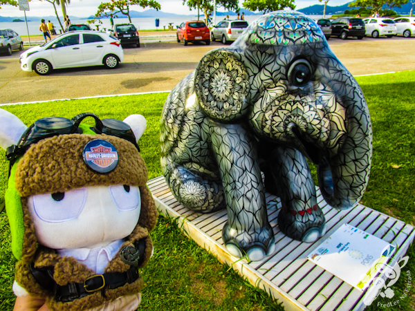 Hope, por Gabriel Young - Elephant Parade - Florianópolis - SC