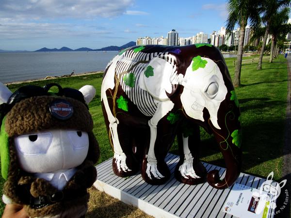 Elephas Vinifera, por Lu Mori - Elephant Parade - Florianópolis - SC