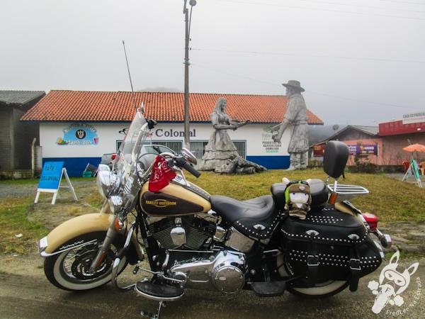 Monumento ao Churrasco - Bom Retiro - SC   FredLee Na Estrada
