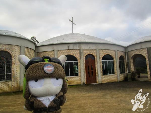 Santuário Diocesano Nossa Senhora Aparecida - Bom Retiro - SC   FredLee Na Estrada