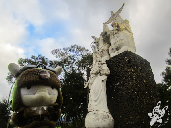 Monumento ao Divino Pai Eterno - Bom Retiro - SC   FredLee Na Estrada