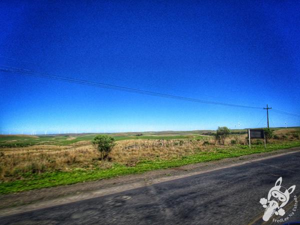 Parque Eólico Água Doce, divisa entre Água Doce - SC e Palmas - PR