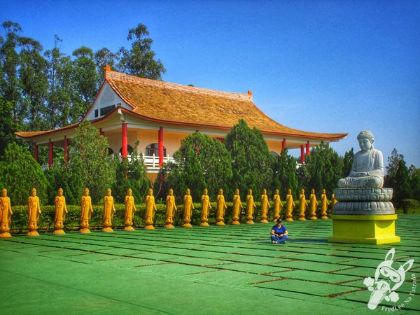 Templo Budista Chen Tien | Foz do Iguaçu - PR | FredLee Na Estrada