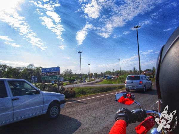 Ponte Internacional da Fraternidade - Ponte Tancredo Neves | Fronteira entre Brasil e Argentina | FredLee Na Estrada