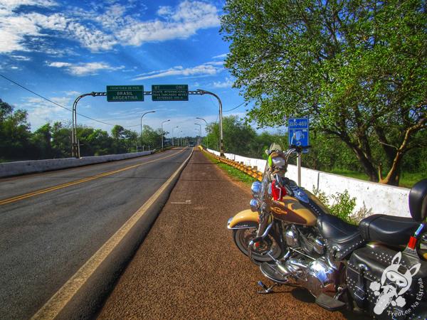 Ponte Trancredo Neves | Divisa entre Brasil e Argentina