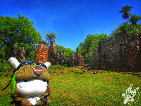 Misión Jesuítica Guaraní de Santa María La Mayor   Santa María - Misiones - Argentina   FredLee Na Estrada