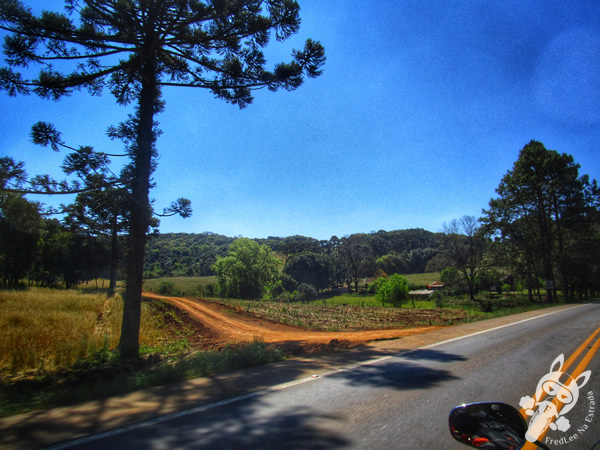 Ponte da divisa entre RS e SC | Rodovia BR-153
