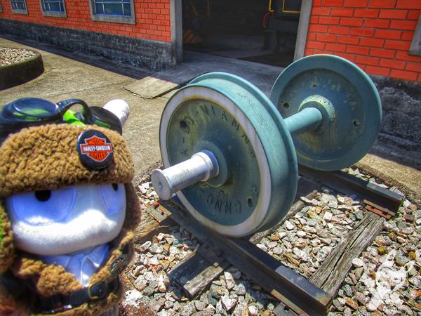 Locomotiva 53 - 1920 - The Baldwin Locomotive Works | Museu Ferroviário de Tubarão - SC