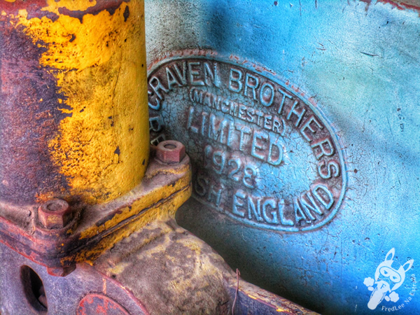 Locomotiva 53 - 1920 - The Baldwin Locomotive Works | Museu Ferroviário de Tubarão - SC