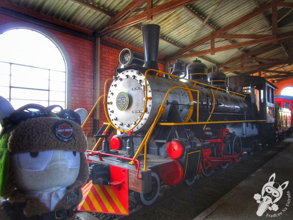 Locomotiva Heinrich Lanz Mannheim - 1919 | Museu Ferroviário de Tubarão - SC