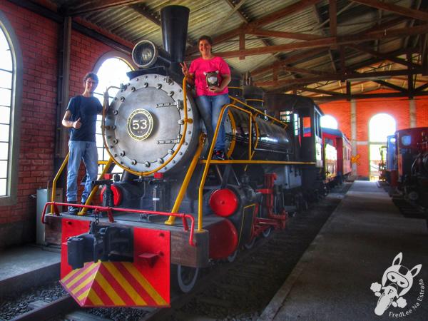 Locomotiva 6 - J. A. Maffei | Museu Ferroviário de Tubarão - SC
