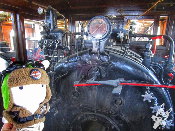 Locomotiva 2 - 1916 - Manning Wardle | Museu Ferroviário de Tubarão - SC