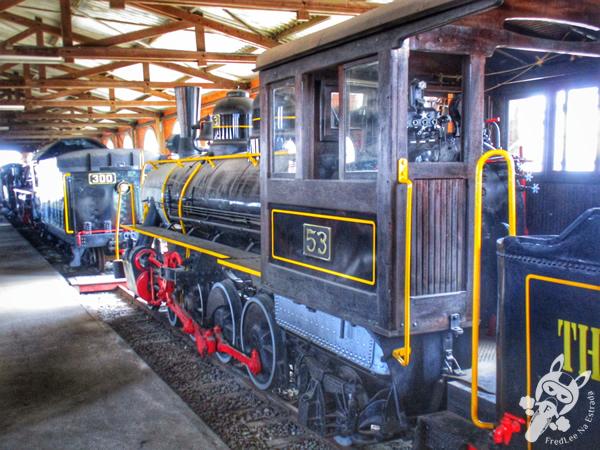 Trilheira | Museu Ferroviário de Tubarão - SC