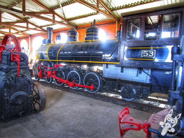 Locomotiva 208 (Santa Fé) - 1949 | Museu Ferroviário de Tubarão - SC