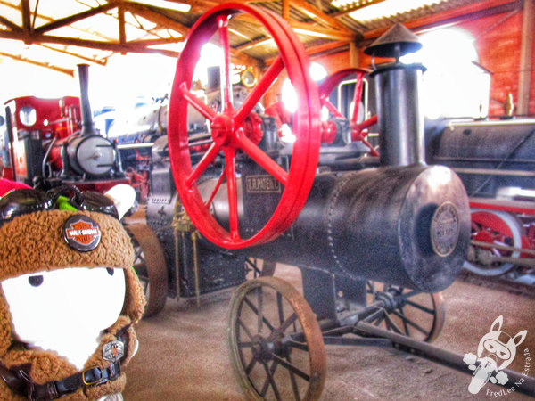 Locomotiva 7 - 1912 - Henschel & Sohn | Museu Ferroviário de Tubarão - SC