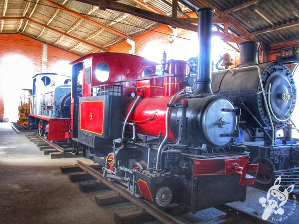 Locomotiva 10 - 1920 - Baldwin | Museu Ferroviário de Tubarão - SC