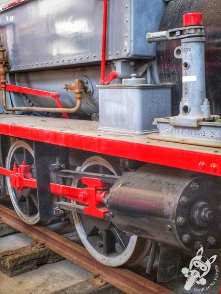 Locomotiva 300 | Museu Ferroviário de Tubarão - SC