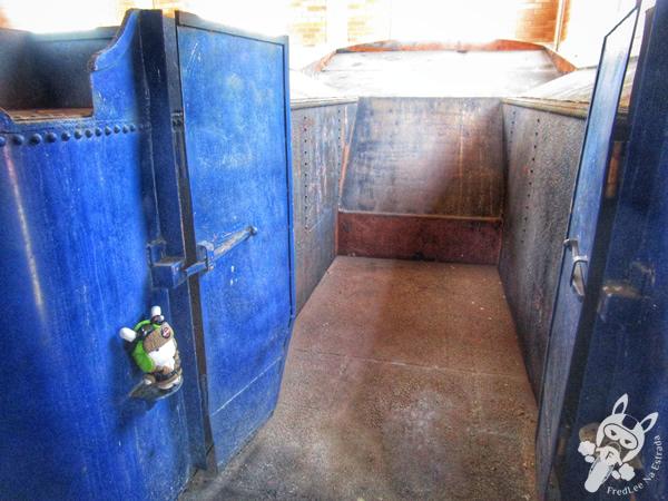 Locomotiva 9 - 1922 - Baldwin | Museu Ferroviário de Tubarão - SC