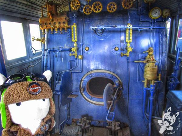 Locomotiva 153 - 1941 - American Locomotive Company | Museu Ferroviário de Tubarão - SC