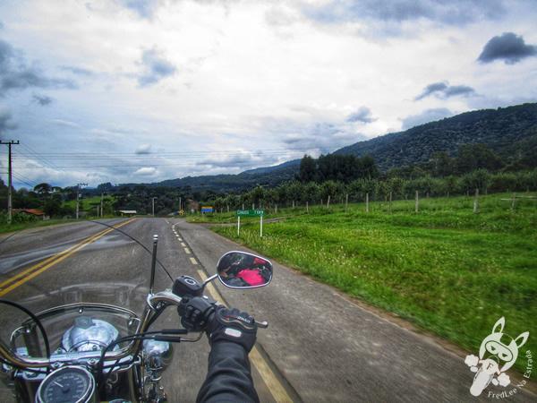 Estrada de acesso ao Morro da Igreja | Urubici - SC